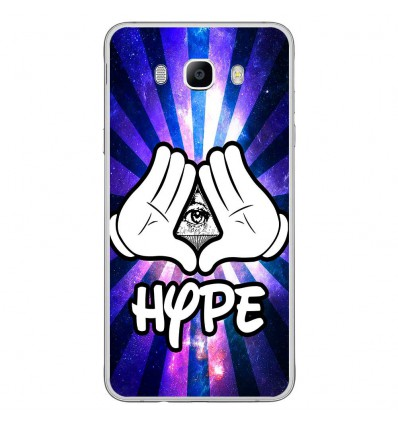 Coque en silicone Samsung Galaxy J7 2016 - Hype Illuminati