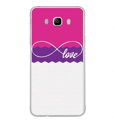 Coque en silicone Samsung Galaxy J7 2016 - Love Rose