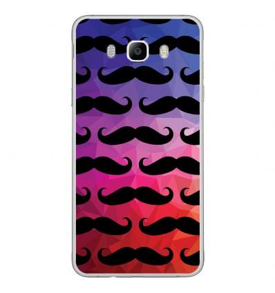 Coque en silicone Samsung Galaxy J7 2016 - Moustache
