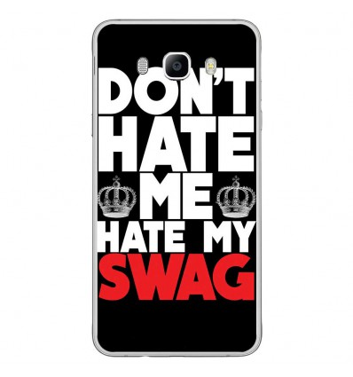 Coque en silicone Samsung Galaxy J7 2016 - Swag Hate