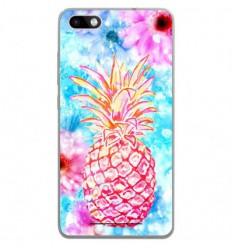 Coque en silicone Wiko Lenny 3 - Ananas