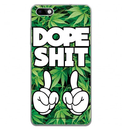 Coque en silicone Wiko Lenny 3 - Dope Shit