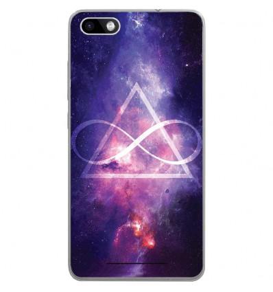 Coque en silicone Wiko Lenny 3 - Infinite Triangle