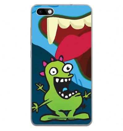 Coque en silicone Wiko Lenny 3 - Monstre happy