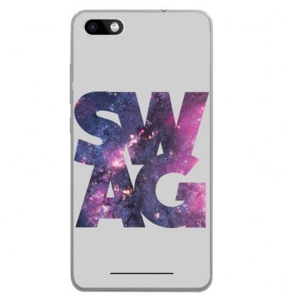 Coque en silicone Wiko Lenny 3 - Swag Space