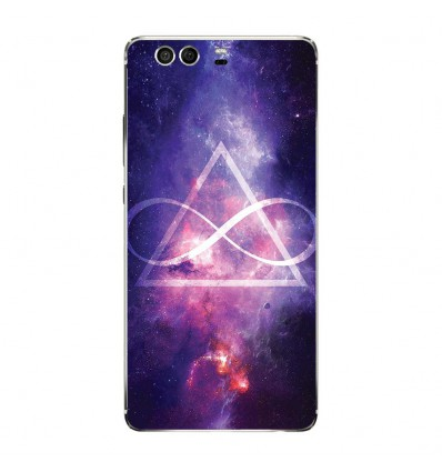Coque en silicone Huawei P9 - Infinite Triangle