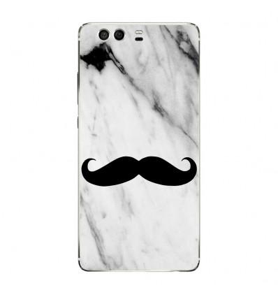 Coque en silicone Huawei P9 - Hipster Moustache
