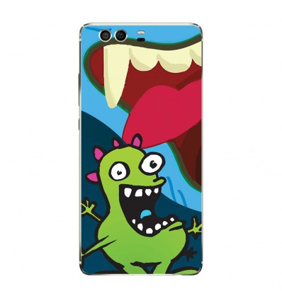 Coque en silicone Huawei P9 - Happy Monster
