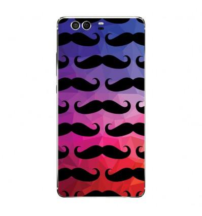 Coque en silicone Huawei P9 - Moustache