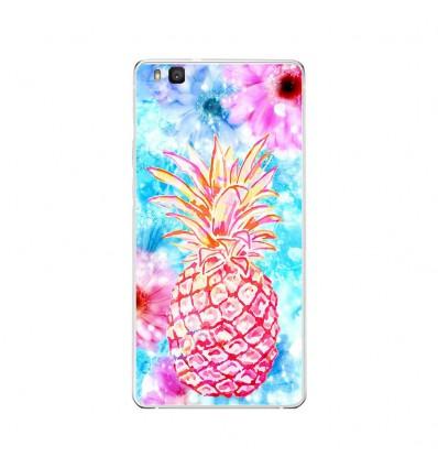 Coque en silicone Huawei P9 Lite - Ananas