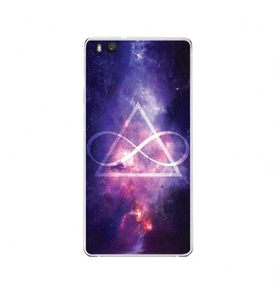 Coque en silicone Huawei P9 Lite - Infinite Triangle