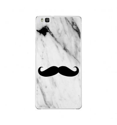 Coque en silicone Huawei P9 Lite - Hipster Moustache