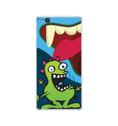 Coque en silicone Huawei P9 Lite - Happy Monster