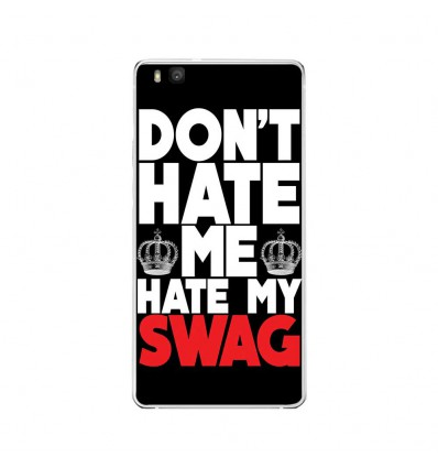 Coque en silicone Huawei P9 Lite - Swag Hate