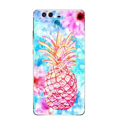 Coque en silicone Huawei P9 - Ananas