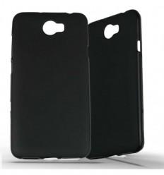 Coque Huawei Y5 II en Silicone Gel Givré - Noir