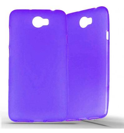 Coque Huawei Y5 II en Silicone Gel Givré - Violet