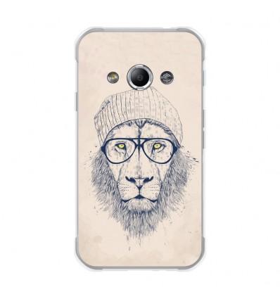 Coque en silicone Samsung Galaxy Xcover 3 - Balasz Solti (Cool Lion)