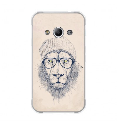 Coque en silicone Samsung Galaxy Xcover 3 - BS Cool Lion