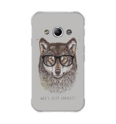 Coque en silicone Samsung Galaxy Xcover 3 - Balasz Solti (Granny)