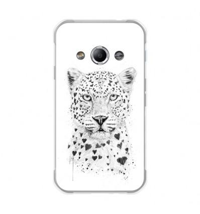 Coque en silicone Samsung Galaxy Xcover 3 - BS Love leopard