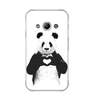 Coque en silicone Samsung Galaxy Xcover 3 - BS Love Panda