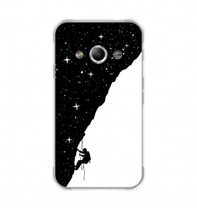 Coque en silicone Samsung Galaxy Xcover 3 - BS Nightclimbing