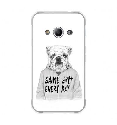 Coque en silicone Samsung Galaxy Xcover 3 - BS Same shit
