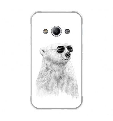 Coque en silicone Samsung Galaxy Xcover 3 - Balasz Solti (Sunny bear)
