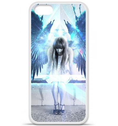 Coque en silicone Apple iPhone SE - Angel
