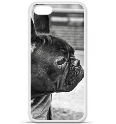Coque en silicone Apple iPhone SE - Bulldog