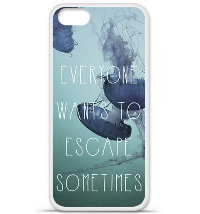 Coque en silicone Apple iPhone SE - Escape