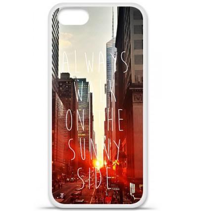 Coque en silicone Apple iPhone SE - Sunny side