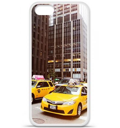 Coque en silicone Apple iPhone SE - NY Taxi