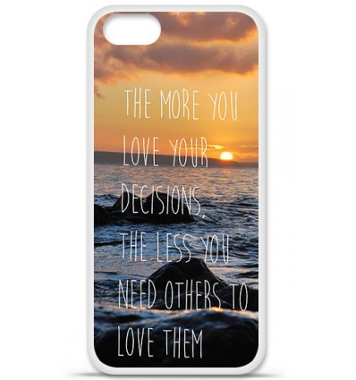 Coque en silicone Apple iPhone SE - Sunshine