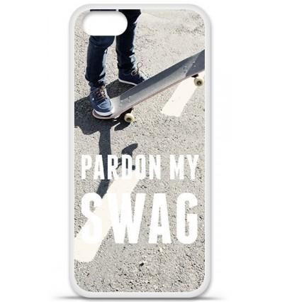 Coque en silicone Apple iPhone 5 SE - Pardon My Swag