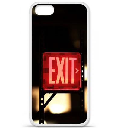 Coque en silicone Apple iPhone SE - Exit