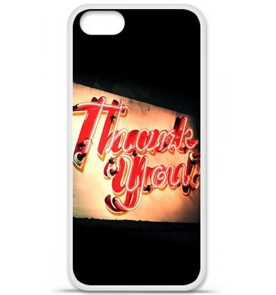 Coque en silicone Apple iPhone SE - Thank You