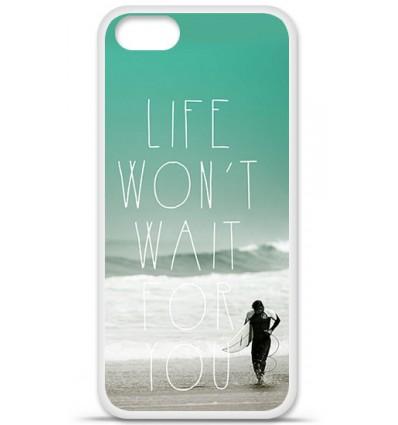Coque en silicone Apple iPhone SE - Surfer