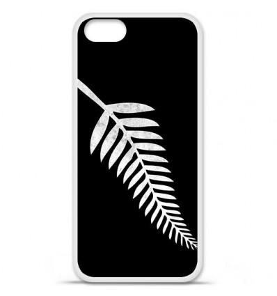 Coque en silicone Apple iPhone SE - Drapeau All-black
