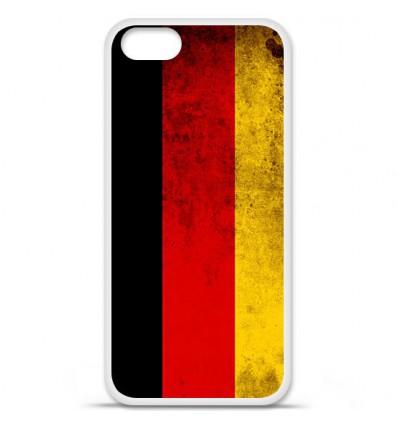 Coque en silicone Apple iPhone SE - Drapeau Allemagne