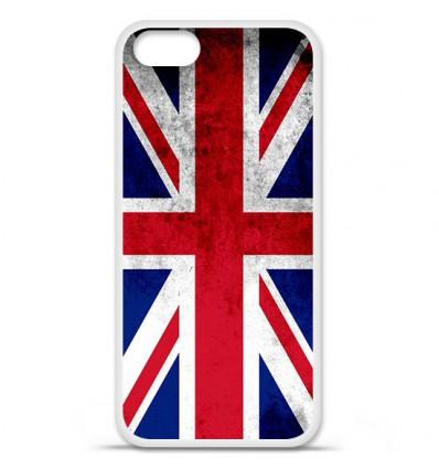 Coque en silicone Apple iPhone SE - Drapeau Angleterre
