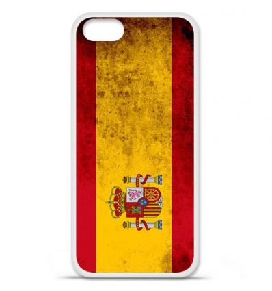Coque en silicone Apple iPhone SE - Drapeau Espagne