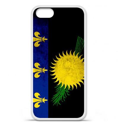 Coque en silicone Apple iPhone SE - Drapeau Guadeloupe