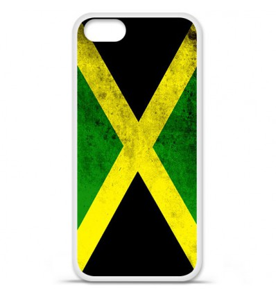Coque en silicone Apple iPhone SE - Drapeau Jamaïque