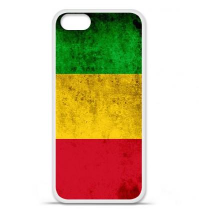 Coque en silicone Apple iPhone 5 SE - Drapeau Mali