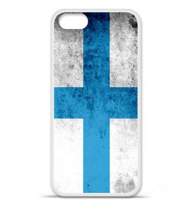Coque en silicone Apple iPhone SE - Drapeau Marseille
