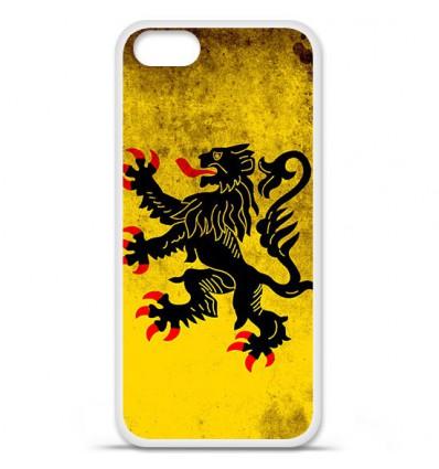 Coque en silicone Apple iPhone SE - Drapeau Nord