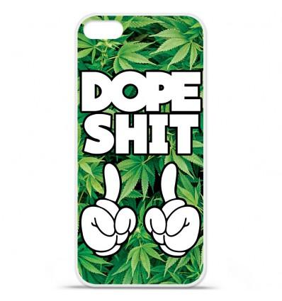 Coque en silicone Apple iPhone SE - Dope Shit