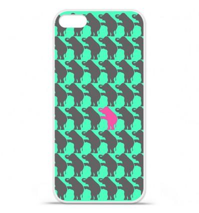 Coque en silicone Apple iPhone SE - Elephant